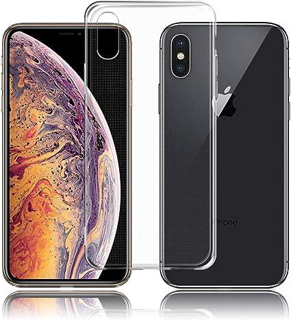 TopACE Cover iPhone XS Max iPhone XS Max Custodia Puro Trasparente Morbida TPU Silicone Ultra Sottile Case per iPhone XS Max (Trasparente)