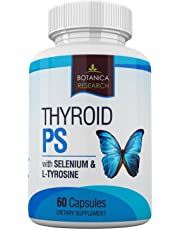 Thyroid Support Supplement Formula To Increase Energy & Weight Loss - All Natural Herbal Synergy Formula Best For Focus, Low Concentration, Boost Underactive Metabolism and Reduce Sluggish Brain Fog