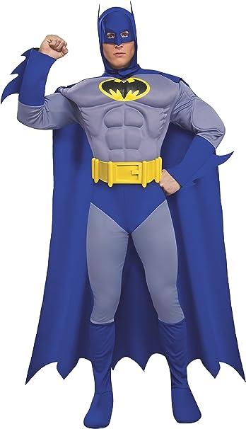 Desconocido Disfraz de Batman musculoso para hombre: Amazon.es ...