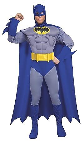 Desconocido Disfraz de Batman musculoso para hombre