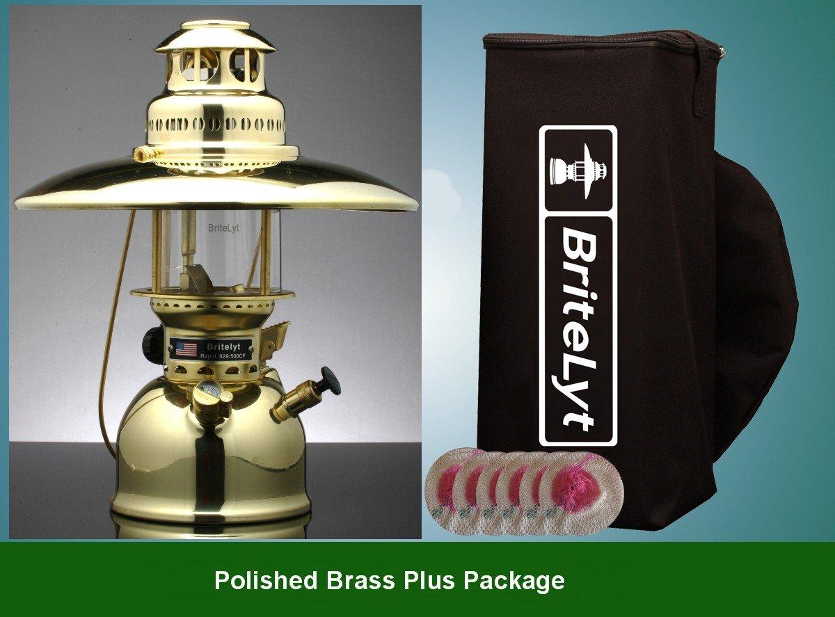 BriteLyt/Petromax USA 500CP/XL Pressure Lantern Polished brass finish by BriteLyt/Petromax USA (Image #1)