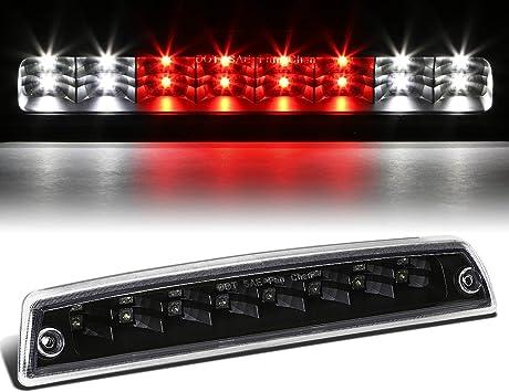 DUAL ROWS LED 3RD THIRD TAIL BRAKE LIGHT CARGO LAMP BLACK FOR 94-02 DODGE RAM
