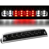 Dodge Ram BR/BE High Mount Dual Row LED 3rd Brake/Cargo / Reverse Light (Black Housing Clear Lens)