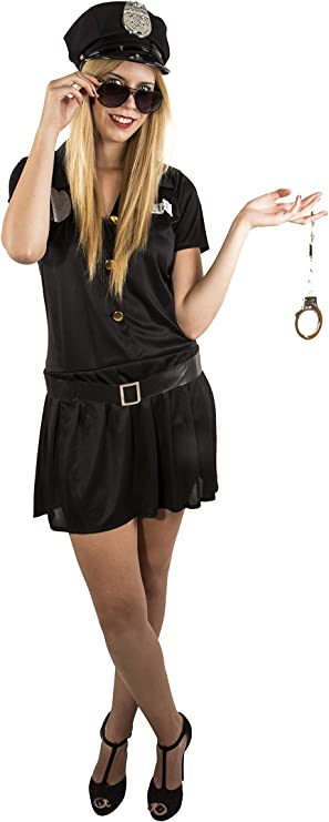 Costumizate! Disfraz de Policia Mujer Adulta Especial para Fiestas ...