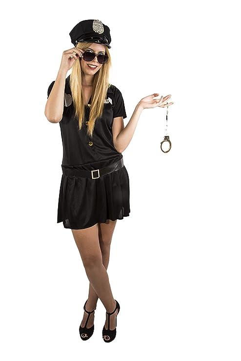 Costumizate! Disfraz de Policia Mujer Adulta Especial para ...