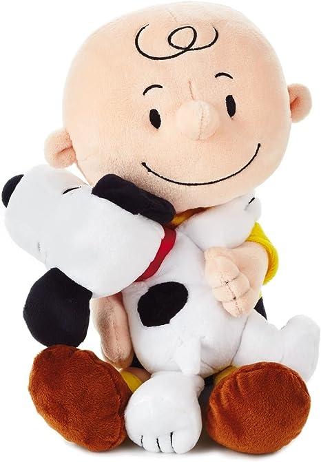 Peanuts SNOOPY Charlie Brown Love Hugs Valentine 2-Pack Curved Table Glasses
