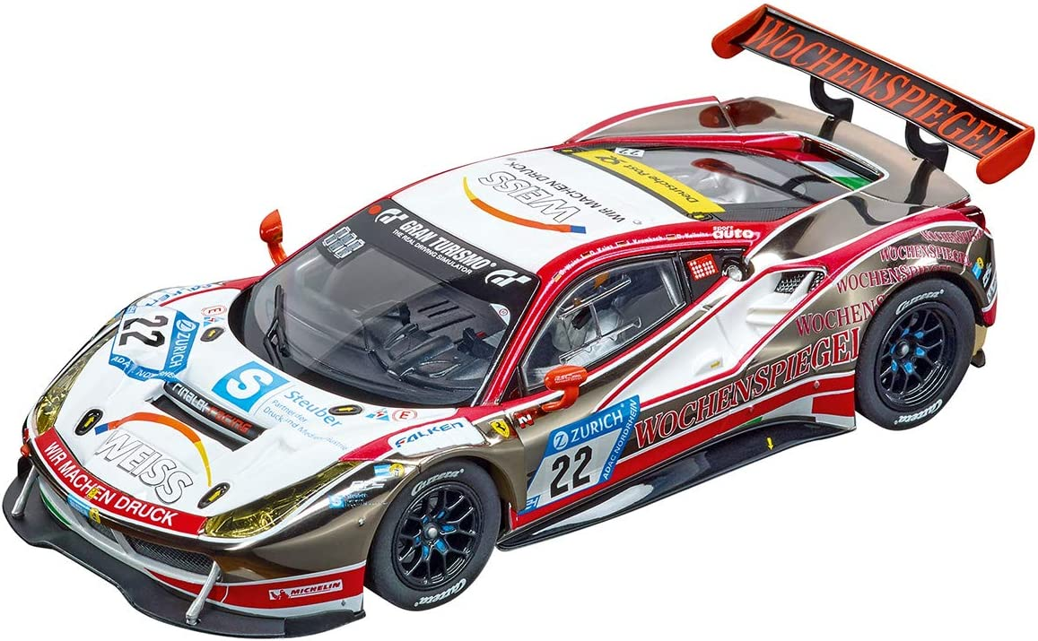 1:32 scale slot car Carrera Evolution 27596 Ford GT Race Car Time Twist No.1