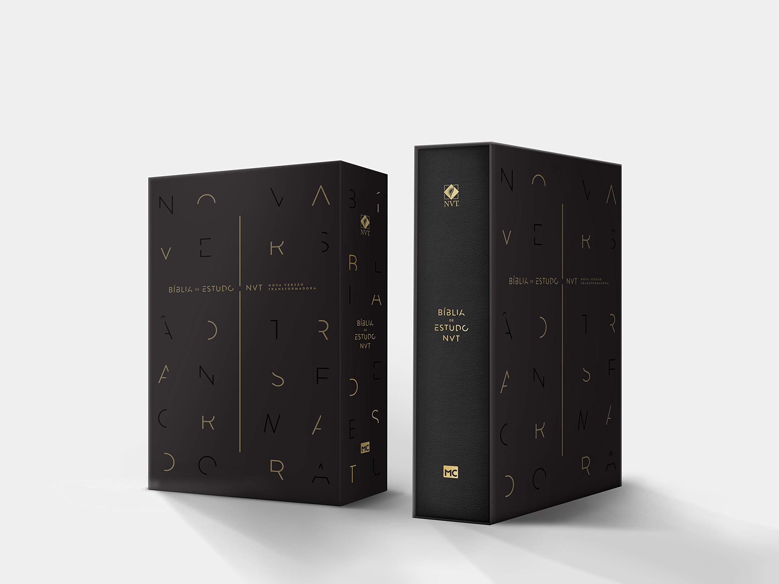Bíblia de Estudo NVT - Capa Preta: Amazon.es: Vários Autores: Libros