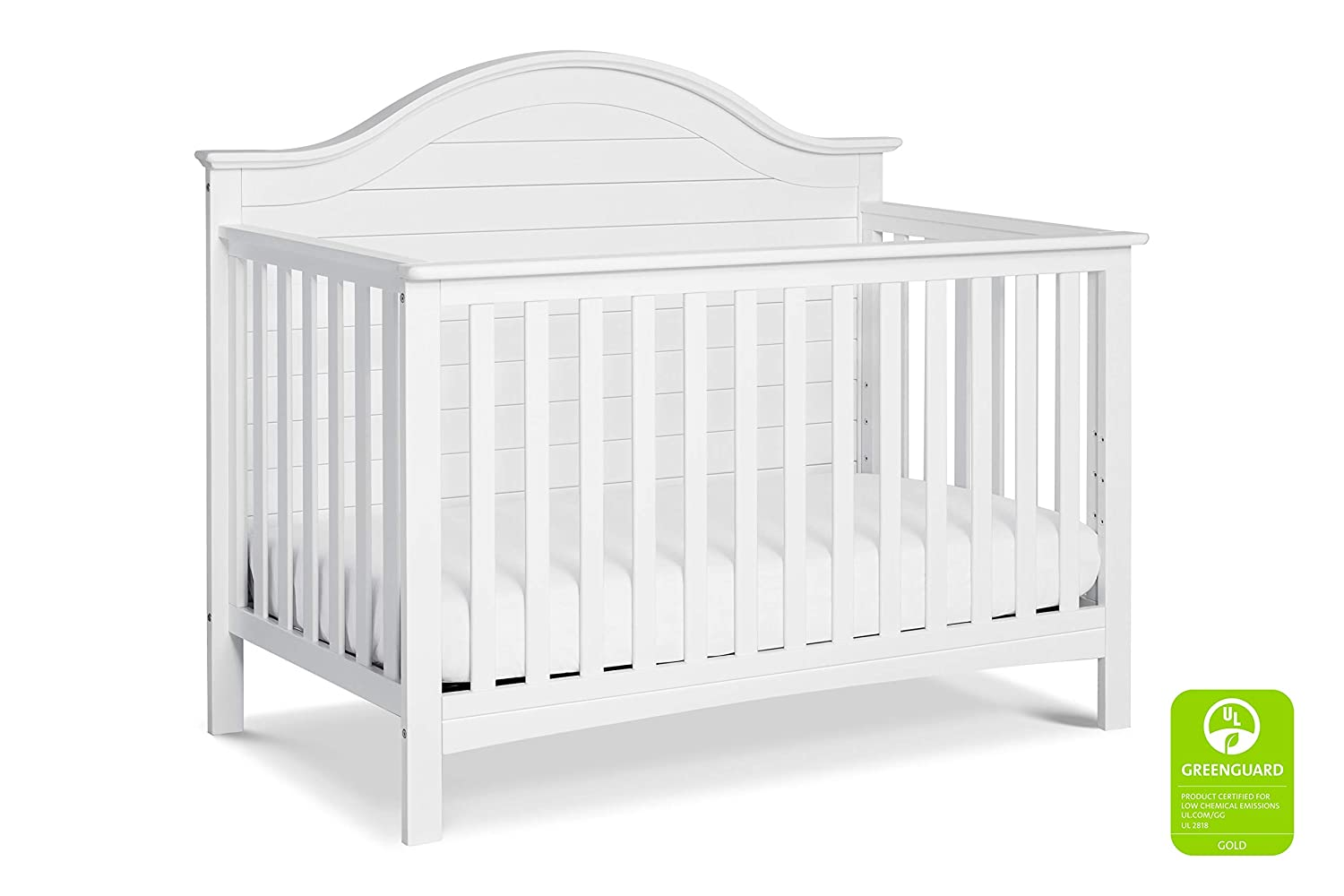 Carter s by DaVinci Nolan 4-in-1 Convertible Crib in White Greenguard Gold Certified