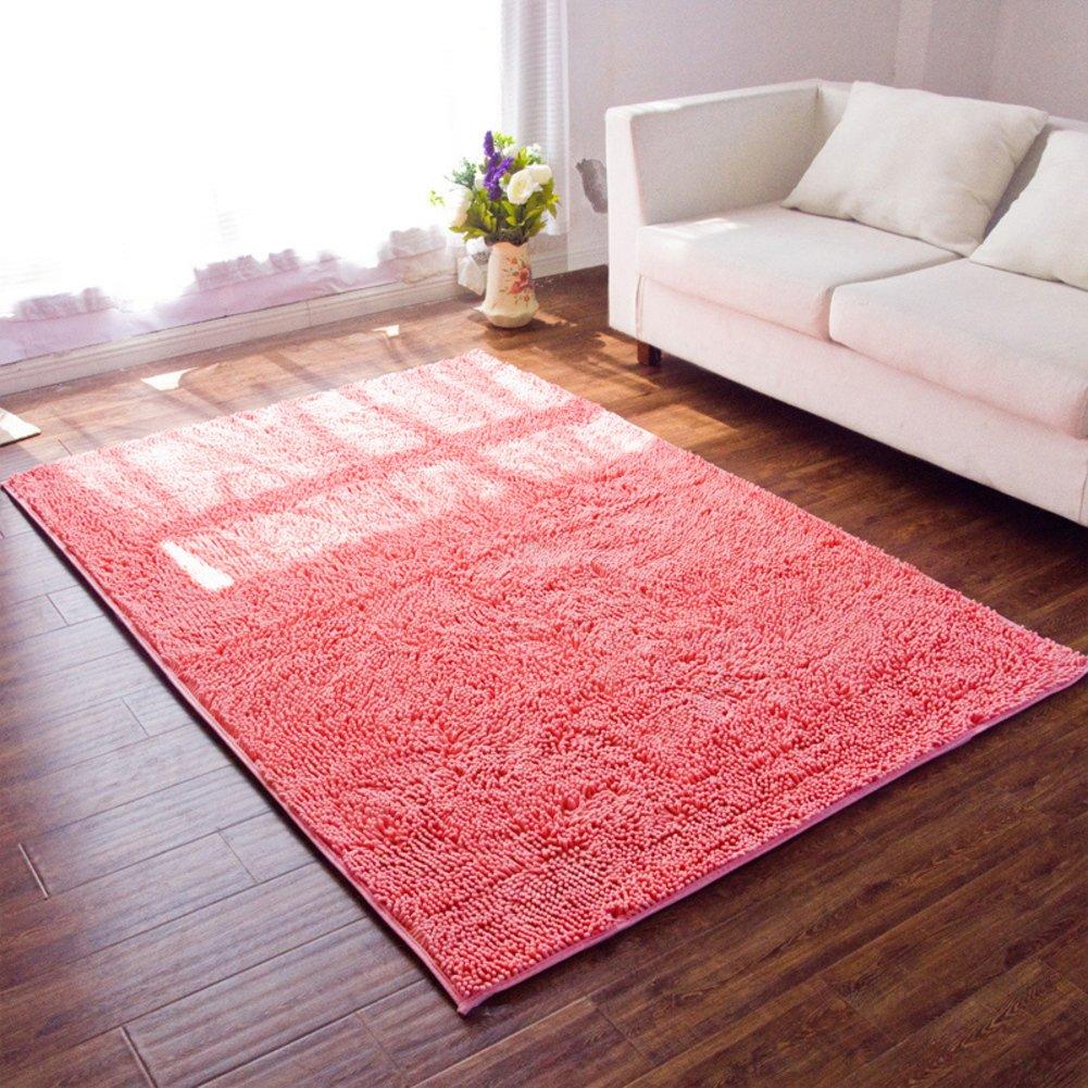 Doormat/chenille mat/anti-skidding,[absorbent],chenille,living room mat/kitchen,health,door mat-E 140x200cm(55x79inch)