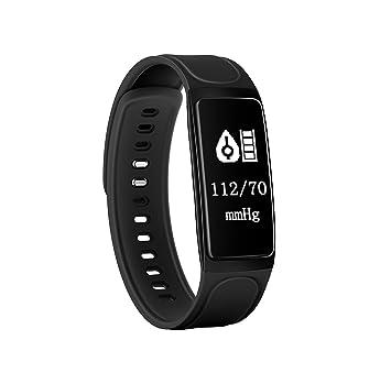 Pulsera inteligente Changxi que registra la actividad deportiva, pantalla táctil OLED de 0,96 pulgadas, incluye pulsómetro, tensiómetro, podómetro y monitor ...