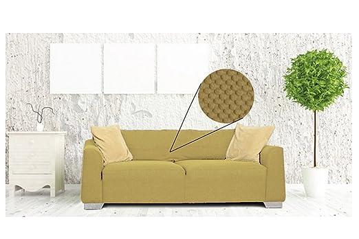 Sofá 4 plazas elástica y sillón tinta unita Nido Abeja Color ...