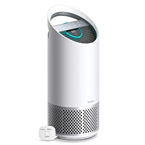 TruSens DuPont Air Purifier | 360° HEPA Filtration | UV Light Sterilization Kills Bacteria Germs Odor Allergens in Home | Dual Airflow for Full Coverage (Medium Room)