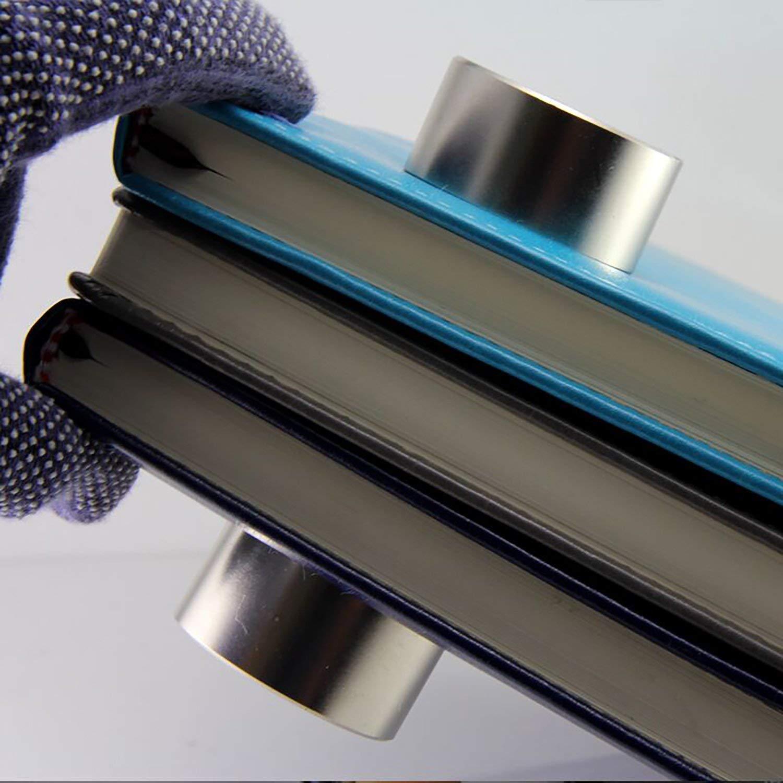 Imanes de tierra rara m/ás potentes del mundo Im/án de Disco de Neodimio 1PC Disco de im/án permanente s/úper fuerte 40x20 mm