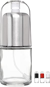 Chef Vantage Premium Glass Bottle with Non-aerosol Olive Oil Mister