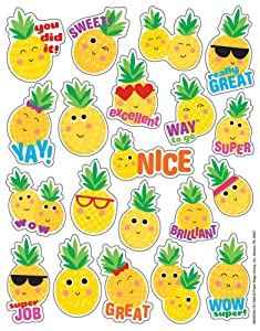 Eureka Educational Pineapple Scented Stickers (650933)