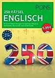 PONS 250 Rätsel Englisch: Fit durch Rätsel-Übungen mit Quiz-Block zu Grammatik, Wortschatz u. Landeskunde