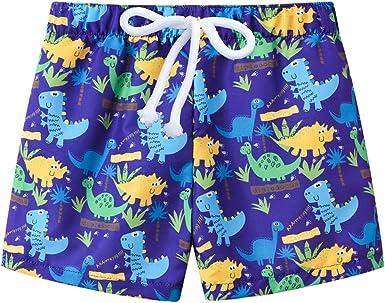 Printed Trunks Kids Children Swimming For Boys Swimwear Beach Baby Bathing Suit
