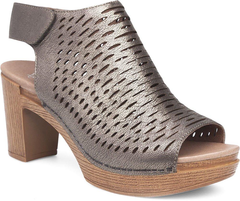 Dansko Womens Sandals Danae Pewter, Size-41