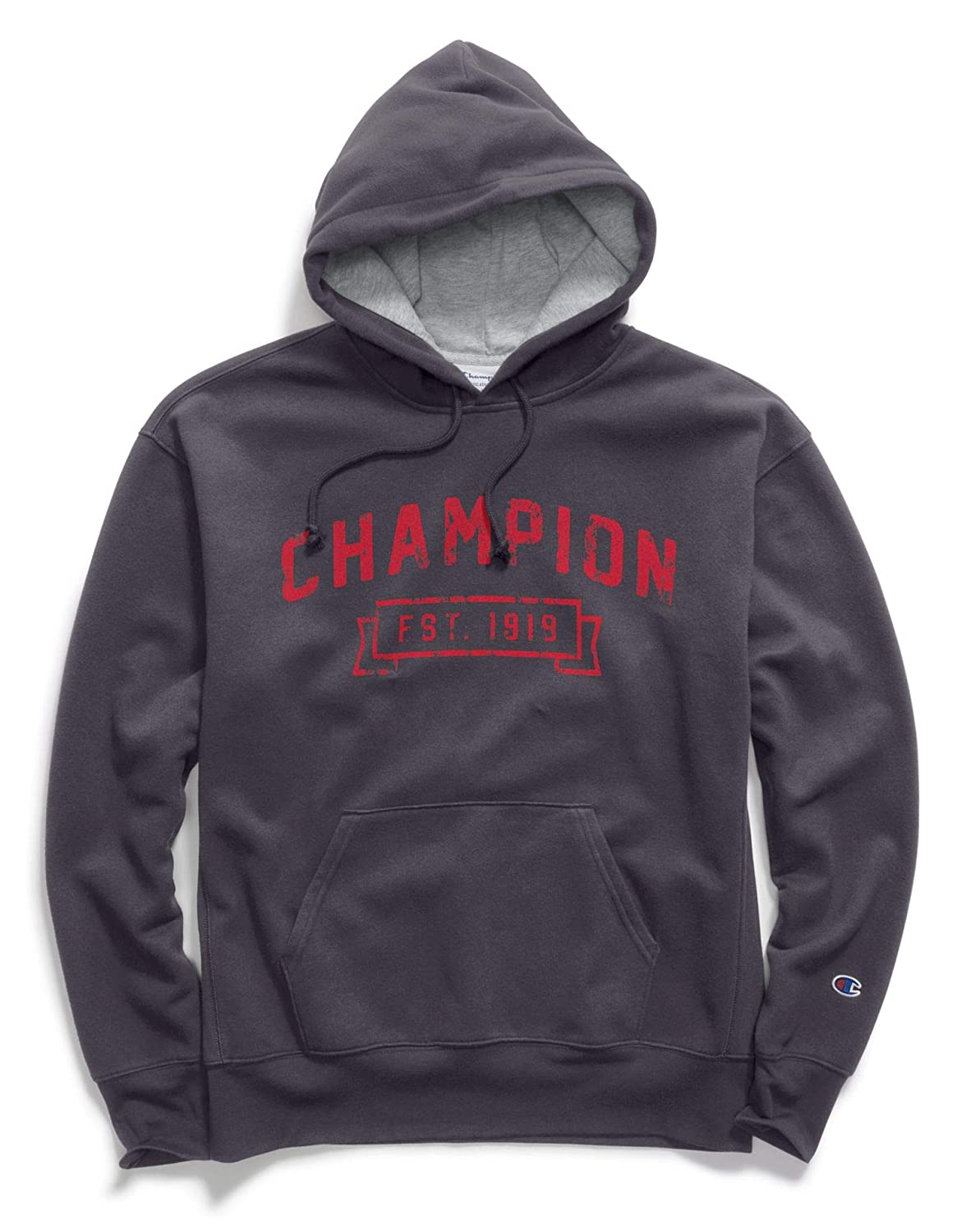 Champion Mens Heritage Fleece Pullover Hoodie Champion Men' s Athletic S1231
