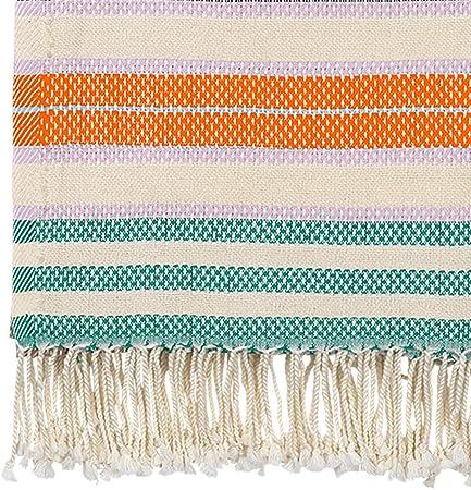 Becksöndergaard Milo Towel 1904810002-641 - Toalla de Playa para Mujer (200 x 100 cm, algodón), Color Naranja: Amazon.es: Hogar