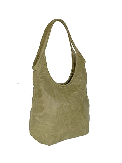 bf1f5bef4330 Image Unavailable. Image not available for. Color  Fgalaze Distressed  Leather Hobo Bag ...
