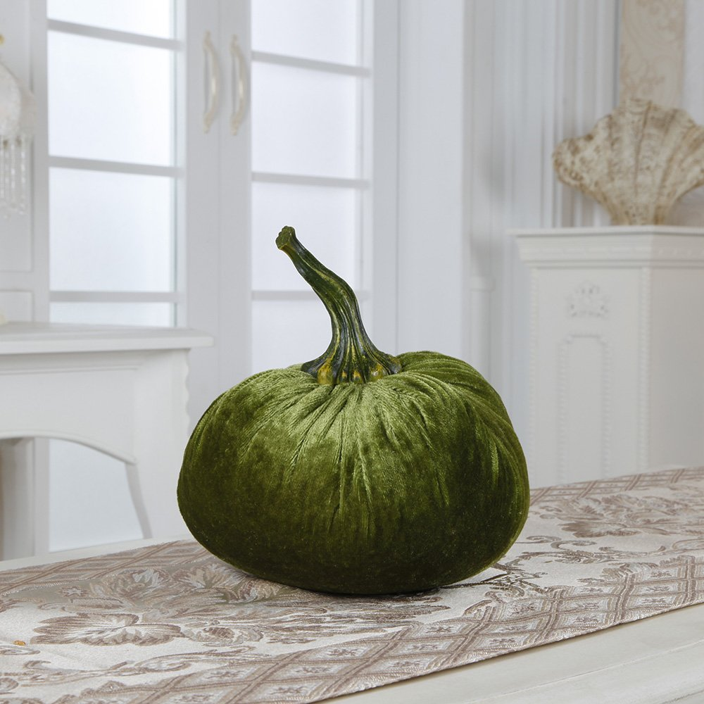 Flora Bunda FT-2393N Plush Velvet Pumpkin Sachet(XL)(Green,12pcs) by Flora Bunda