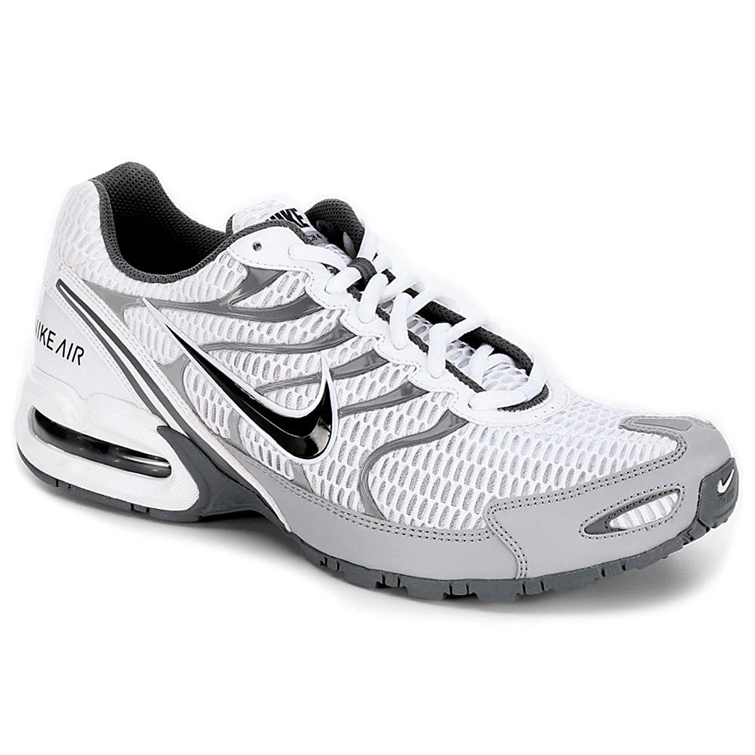 Nike Men's Air Max Torch 4 Running Shoe (WhiteAnthraciteWolf Grey Size, 15 D(M) US)