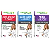 Diabetes Doctor Complete 3 in 1 Bundle - Daily Support, Nerve Health & Mealtime Carb & Sugar Blocker - Insulin & Healthy Weig