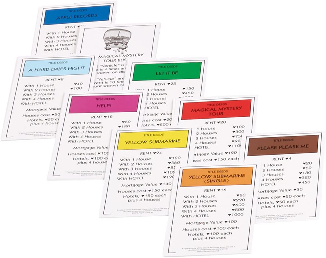 Winning Moves Monopoly-Brettspiele, Special Edition TV & Film (evtl. Nicht in Deutscher Sprache) Mehrfarbig