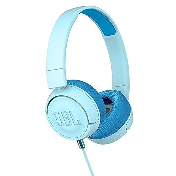 9a2cd4b6f5f JBL JR 300 Kids On-Ear Headphones with Safe Sound Technology (Blue ...