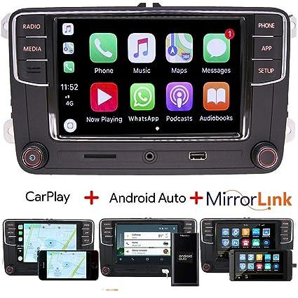 Amazon com: RCD330 Car Audio Radio Carplay,Android Auto,BT