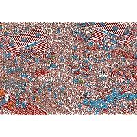 1000ピース ジグソーパズル Where's Wally? ウーフの国(49x72cm)