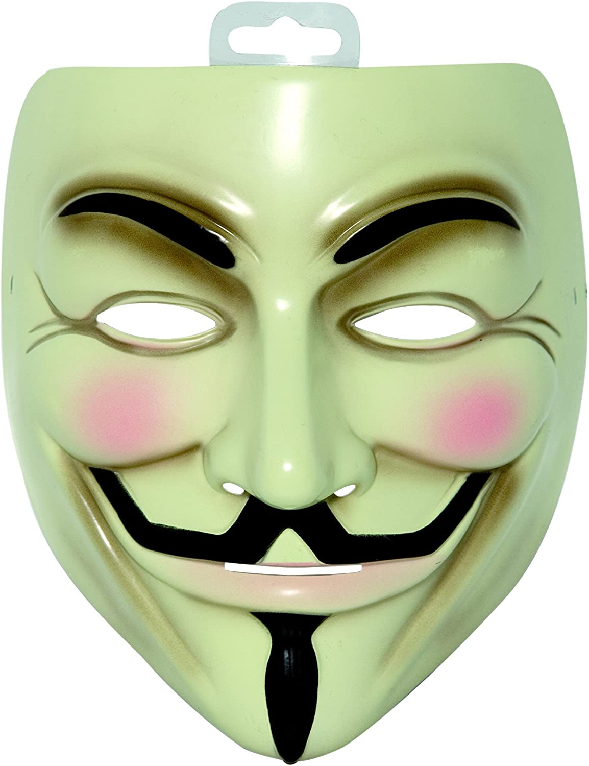 Amazon Com V For Vendetta Mask Rubies Clothing