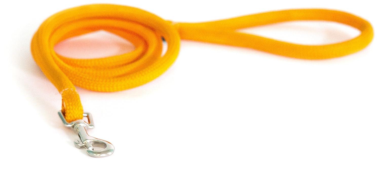 Light orange m Light orange m Yellow Dog Design Round Braided Lead for Dogs, 3 4-Inch, Light orange