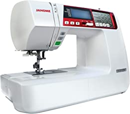 Janome 4120QDC Maquina de Coser Digital, color blanco