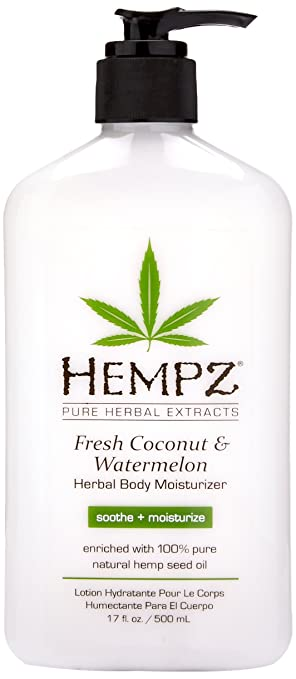 Image result for hempz lotion fresh coconut and watermelon