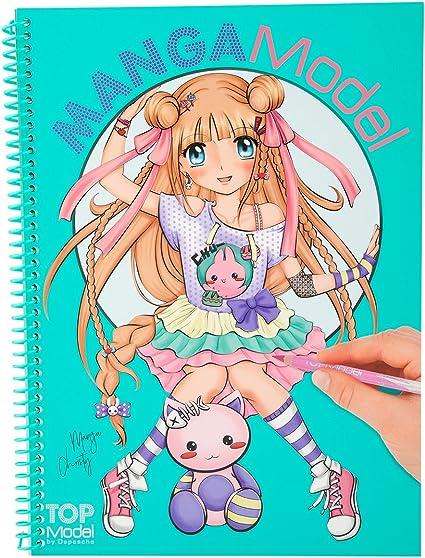 Album Coloriage Topmodel Mangamodel Amazon Fr Jeux Et Jouets