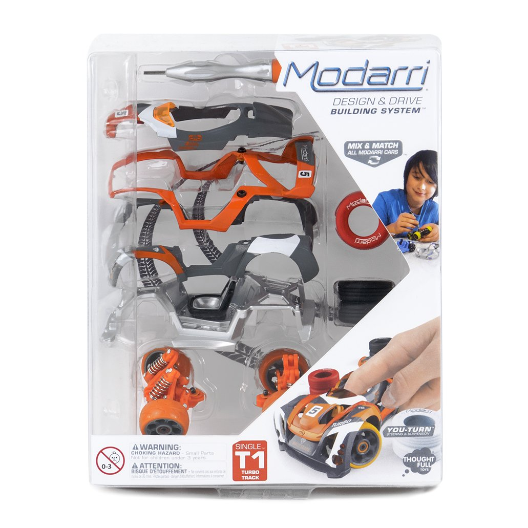 Amazon.com: Modarri T1 Turbo Track Car | STEM Educational Toy Cars | Make a model car - Design your own working race cars | Fun and Functional Building Toys ...