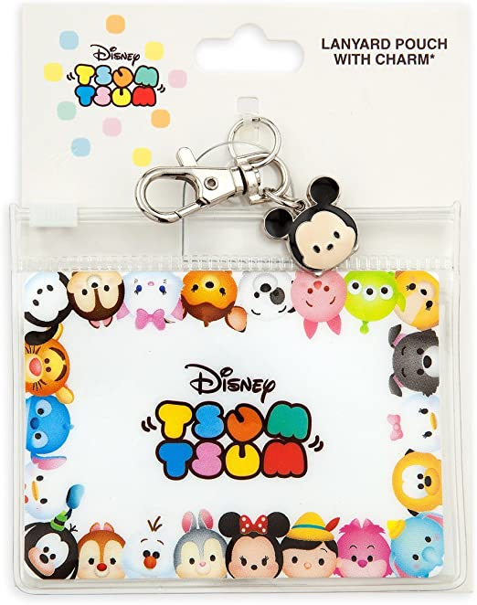 backpack charm Dumbo Elephant Mouse Ears lanyard pin holder pin trader badge purse charm luggage tag