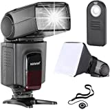 Neewer TT560 Flash Speedlite Kit for Canon Nikon Sony Pentax Cameras with standard Hot Shoe Includes:(1) TT560 Flash+(1) Remote Control+(1) Universal Flash Diffuser+(1) Lens Cap Holder