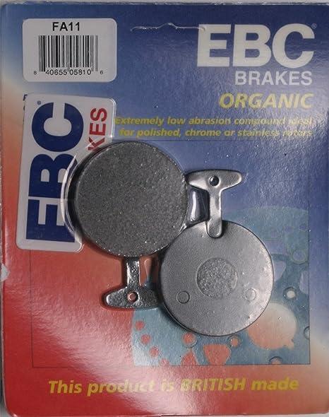 Amazon com: EBC BRAKE PADS FOR 1977 Yamaha RD400 - FA11