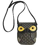 Fashion Characteristic Owl Design Mini PU Shoulder Bag Cross-Body Bag