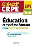Objectif CRPE Éducation et système éducatif - 2017