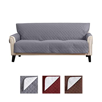 Wondrous Waterproof Couch Cover For 3 Cushion Couch Non Slip Sofa Covers For Living Room With Secure Straps Protect From Kids Dogs And Pets Bayside Gmtry Best Dining Table And Chair Ideas Images Gmtryco