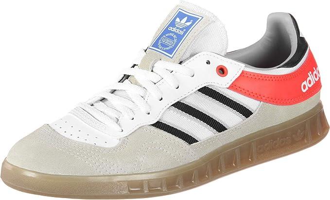 en lugar vanidad Rectángulo  Adidas Handball Top Chaussures Chalk White/Core Black: Amazon.fr:  Chaussures et Sacs
