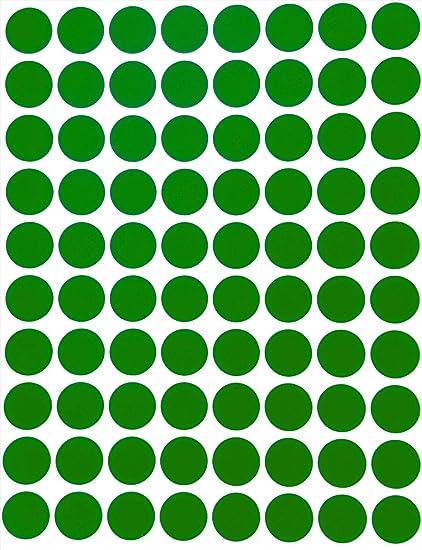 Codage Couleur Paquet De 1200 Ecole Royal Green 13mm Jaune Fluo /Étiquettes Autocollantes Cercles Rondes Petit Point De 1.3 Cm De Diam/ètre Gommettes Auto-Adh/ésives Pour Le Bureau Calendriers