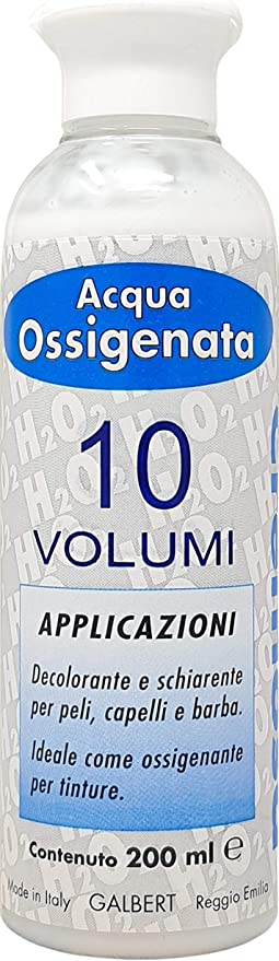 Agua Oxigenada Cremosa 10 Volúmenes para Tintes Made In Italy