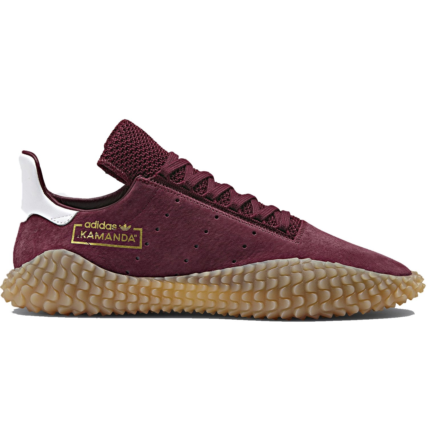 Amazon.com | adidas Mens Kamanda Burgundy/Gum CQ2219 (Size: 13.5) | Fashion Sneakers