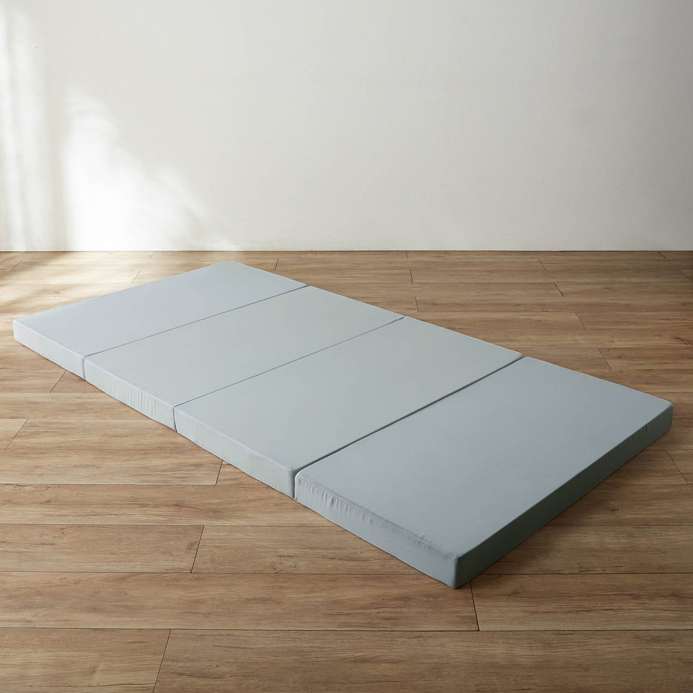 体に合わせて硬さを考えた長く使える4つ折りバランスマットレス[日本製] サイズ:厚さ8cmセミダブル B0771JSWGR サイズ:厚さ8cmセミダブル  サイズ:厚さ8cmセミダブル